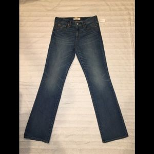 GAP Women's  Perfect Boot Jeans Denim Size 28R